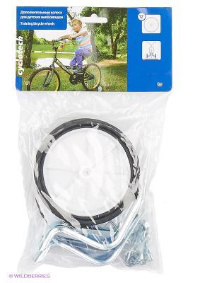 Колеса дополнительные для детских велосипедов Cyclotech. Цвет: черный