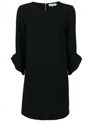 Платье с оборками на рукавах  LAutre Chose L'Autre. Цвет: чёрный