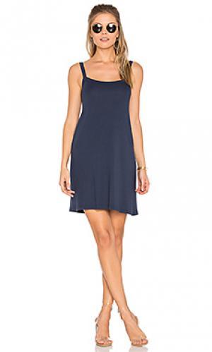 Мини платье oak LACAUSA. Цвет: синий