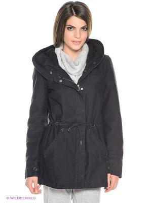 Куртка ROXY. Цвет: черный