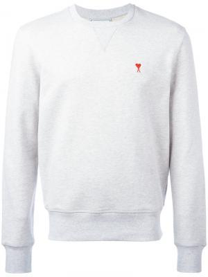 Ami de Coeur Sweatshirt Alexandre Mattiussi. Цвет: серый