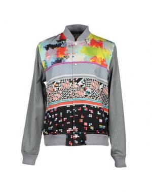 Куртка BASSO & BROOKE. Цвет: серый