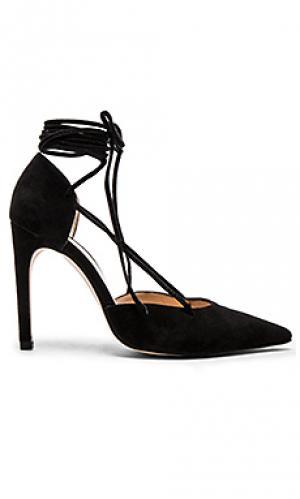 Туфли-лодочки на шнуровке The Mode Collective. Цвет: черный