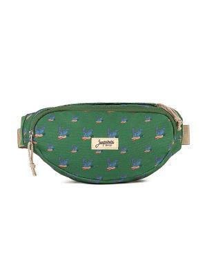 Сумка ЗАПОРОЖЕЦ Canvas Waist Bag. Цвет: зеленый