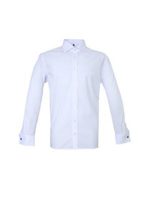 Сорочка Eterna. Цвет: белый