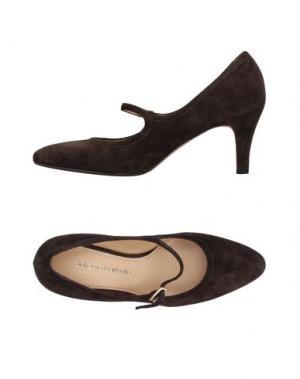 Туфли ANTONIO BARBATO. Цвет: темно-коричневый