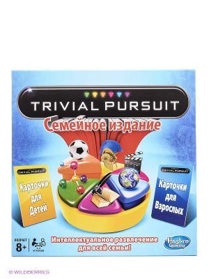 Настольная игра Тривиал Персьюит Hasbro. Цвет: голубой, красный, черный