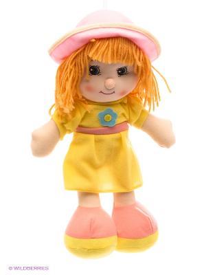 Кукла трикотажная Маша DREAM MAKERS. Цвет: желтый, розовый