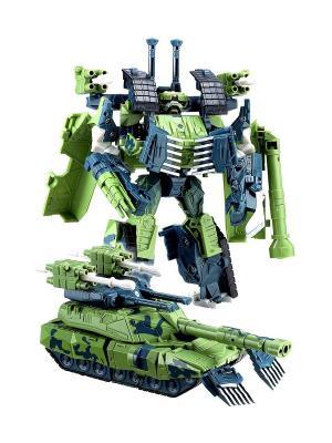 Робот, Трансформер Собирается в Танк XL Склад Уникальных Товаров. Цвет: зеленый