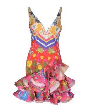Короткое платье LEITMOTIV. Цвет: слоновая кость