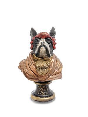 Статуэтка Собака Генрих Art East. Цвет: бронзовый, красный