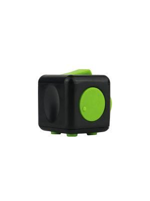 Игрушка антистресс FidgetCube Light, черный - зеленый Neocube. Цвет: желтый