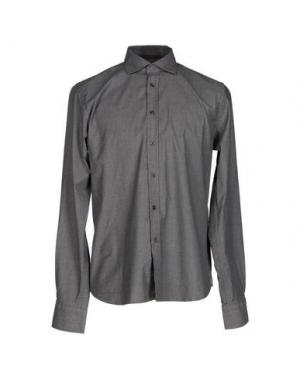 Pубашка YES ZEE BY ESSENZA. Цвет: свинцово-серый