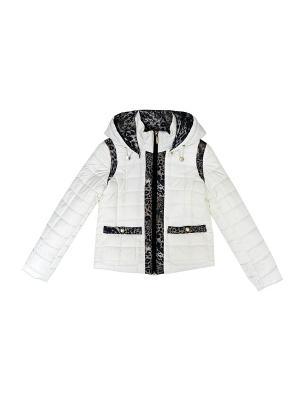 Куртка BORELLI. Цвет: белый, черный