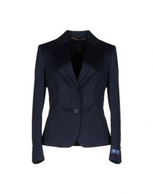 Пиджак LES COPAINS. Цвет: темно-синий