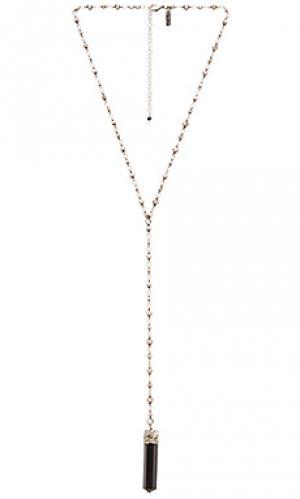 Ожерелье crystalized Natalie B Jewelry. Цвет: металлический серебряный