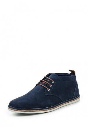 Ботинки Pier One. Цвет: синий