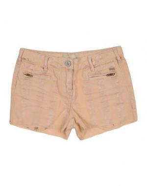 Повседневные шорты SCOTCH R'BELLE. Цвет: абрикосовый