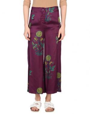 Повседневные брюки OPALINE. Цвет: фиолетовый
