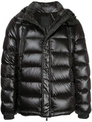 Стеганая куртка Tatras. Цвет: чёрный