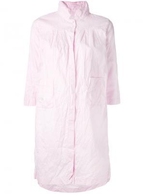 Легкая куртка Daniela Gregis. Цвет: розовый и фиолетовый