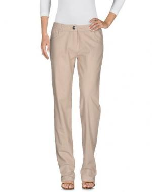 Джинсовые брюки MARELLA SPORT. Цвет: бежевый