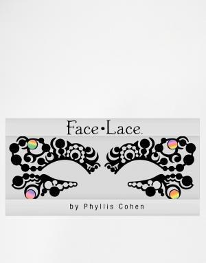 Facelace Украшение для лица ограниченной серии Face Lace Op Tart. Цвет: op tart