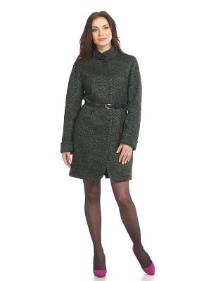 Пальто Lanicka. Цвет: серый, зеленый