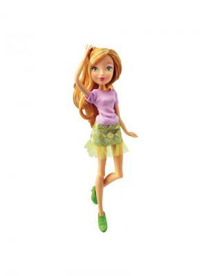 Кукла Winx Club Городская магия Flora. Цвет: салатовый, золотистый, фиолетовый