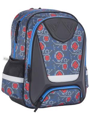 Рюкзак Transformers Prime. Цвет: серый, красный, синий