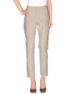 Повседневные брюки MASSIMO ALBA. Цвет: бежевый