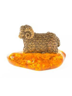 Фигура Баран Денежный Aztek. Цвет: желтый, коричневый, светло-оранжевый