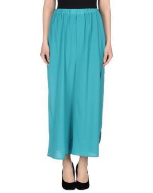 Повседневные брюки GUTTHA. Цвет: бирюзовый