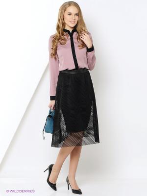 Блузка Milana Style. Цвет: розовый