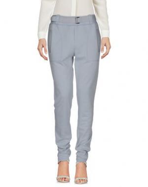 Повседневные брюки MAISON ULLENS. Цвет: светло-серый
