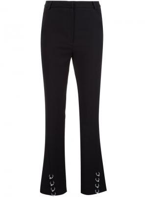 Расклешенные брюки Mugler. Цвет: чёрный