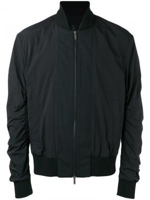 Куртка-бомбер D.Gnak. Цвет: чёрный