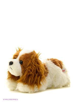 Игрушка мягкая Кинг чарльз спаниель 28 см Aurora. Цвет: коричневый