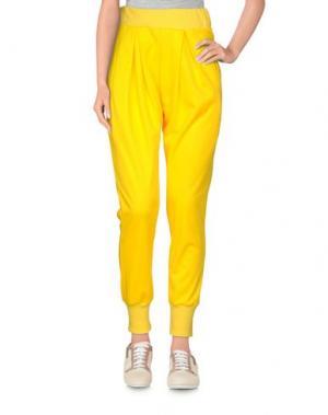 Повседневные брюки NUMERO 00. Цвет: желтый