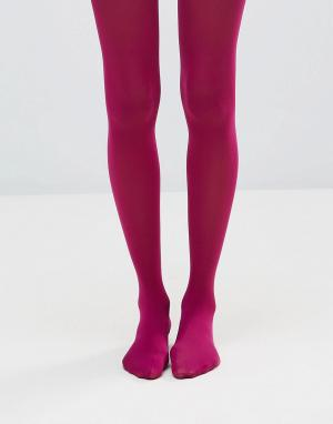 Jonathan Aston Розовые колготки плотностью 40 ден. Цвет: розовый