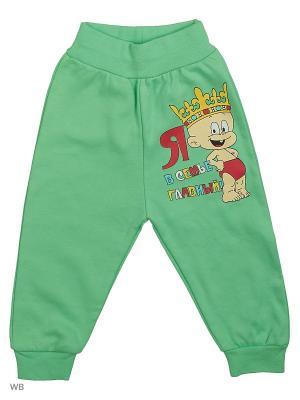 Штаны для новорожденных Bonito kids. Цвет: зеленый