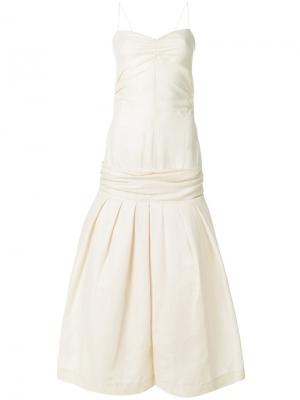 Платье Mamao Jacquemus. Цвет: телесный