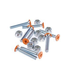 Винты для лонгборда  Deck Bolts Orange Phillips 1 1/8 Penny. Цвет: оранжевый