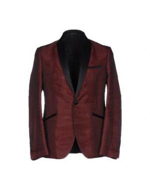 Пиджак MAESTRAMI Cerimonia. Цвет: красно-коричневый
