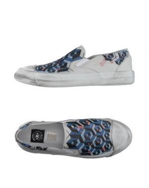 Низкие кеды и кроссовки O.X.S.. Цвет: светло-серый