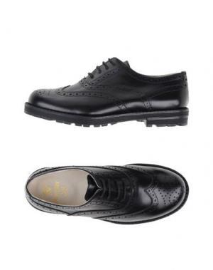 Обувь на шнурках EQUERRY. Цвет: черный