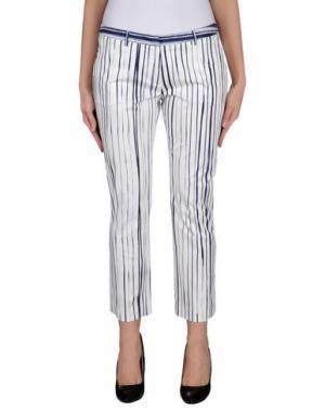 Повседневные брюки GENTE ROMA. Цвет: темно-синий