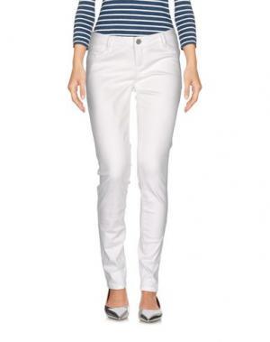 Джинсовые брюки TIMEOUT. Цвет: белый