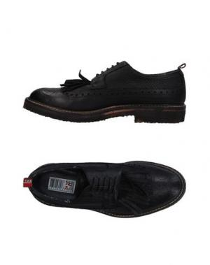 Обувь на шнурках YAB. Цвет: черный