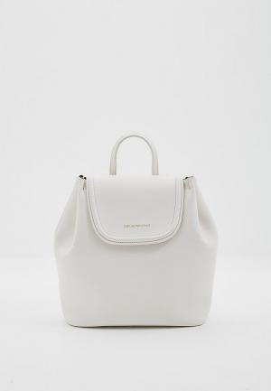 Рюкзак Emporio Armani. Цвет: белый